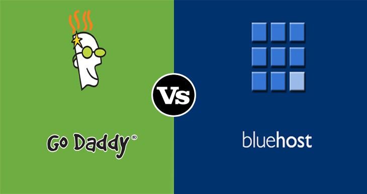GoDaddy vs Bluehost